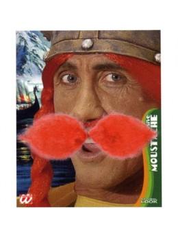 Moustache Gauloise rouge