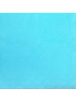 Nappe damassée 25m bleu caraibe