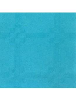 Nappe damassée 25m turquoise