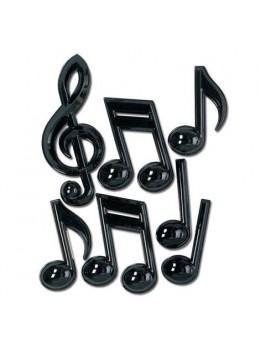 Notes de musiques 3D
