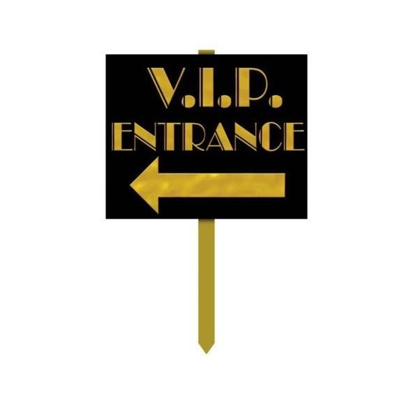 Pancarte VIP entrance