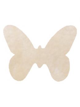 Confetti Papillons non tissés ivoire