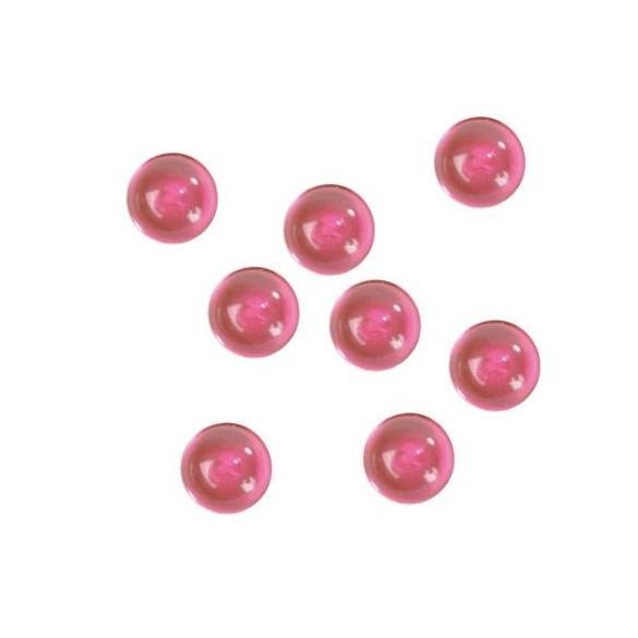 Perles de pluie fuchsia