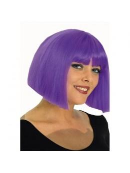 Perruque coco violette