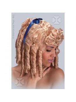 Perruque Epoque blond venitien