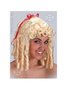 Perruque Epoque femme blonde