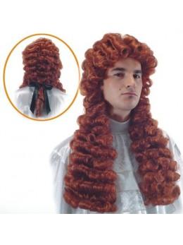 Perruque Molière rousse