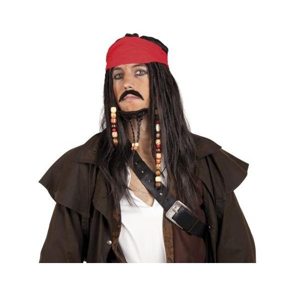 Perruque Pirate Jack