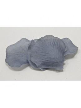 Pétales polyester gris argent