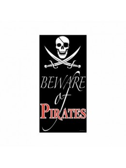 Poster beware of pirates