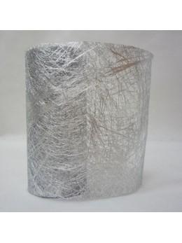 Ruban fibre argent