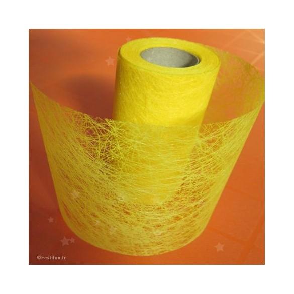 Ruban fibre jaune