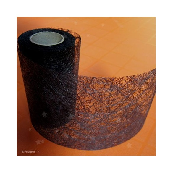 Ruban fibre noir