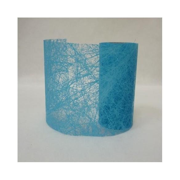 Ruban fibre turquoise