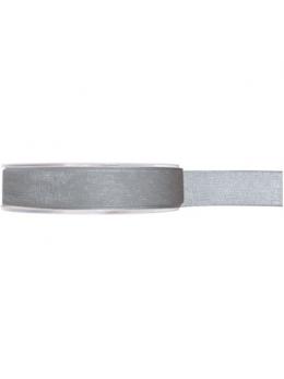Ruban organdi gris 7mm