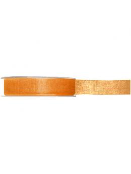 Ruban organdi orange 7mm