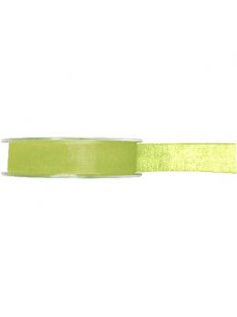 Ruban organdi vert anis 7mm
