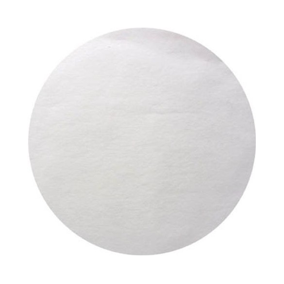 50 Sets de table rond blanc