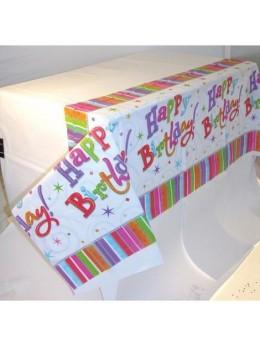 Nappe pliée Happy Birthday