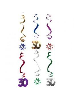 6 Suspensions age étoile 30ans
