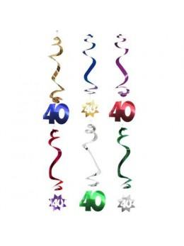 6 Suspensions age étoile 40 ans