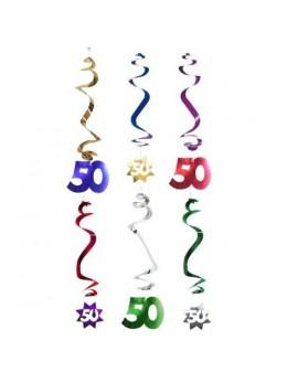 6 Suspensions age étoile 50 ans
