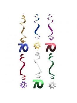 6 Suspensions age étoile 70ans