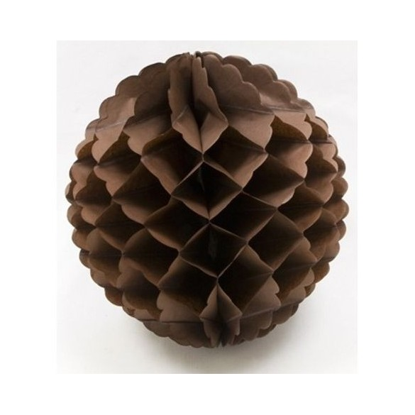 boule papier chocolat 32cm