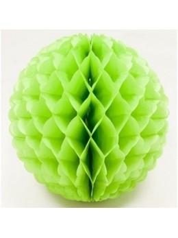 boule papier vert pomme 32cm