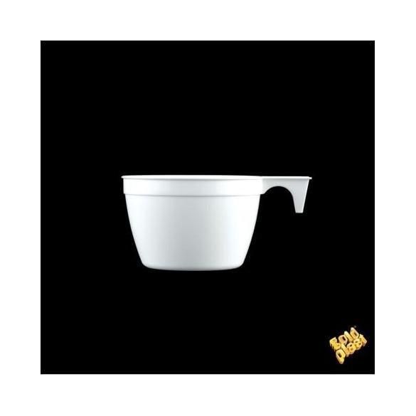 50 Tasses à café blanches 20cl
