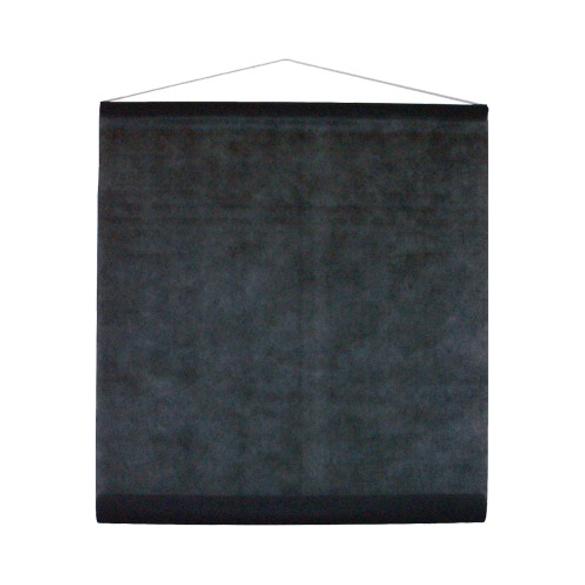 Tenture noir 25m