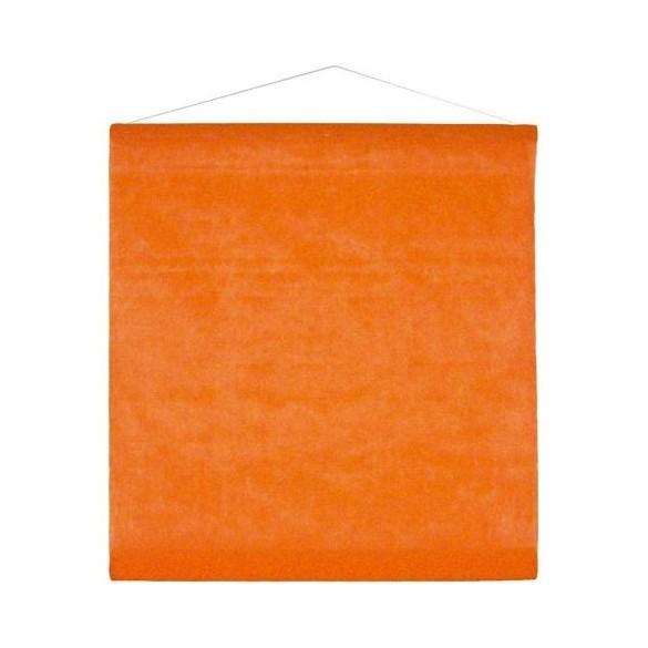 Tenture orange 25m