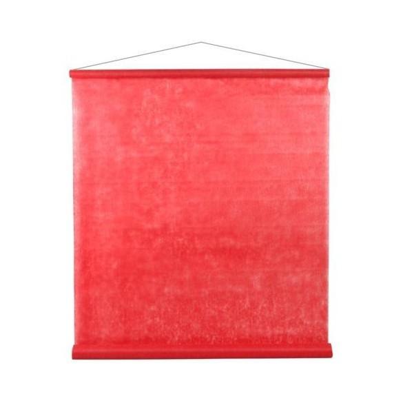 Tenture rouge 25m