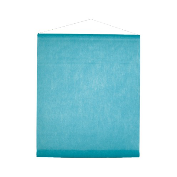 Tenture turquoise 25m