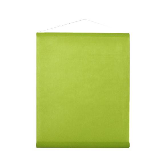 Tenture vert lime 25m