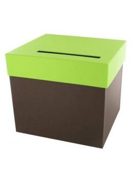 Urne chocolat vert