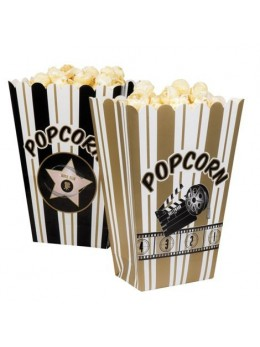 4 Bols de Popcorn Hollywood