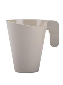 12 Tasses à café expresso Taupe design
