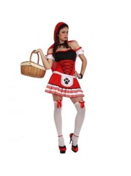Déguisement Petit chaperon rouge sexy pour femme