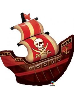 Ballon alu bateau de pirate