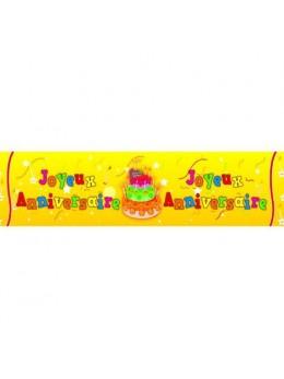 Banderolle Joyeux anniversaire