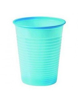 50 gobelets bleu pastel