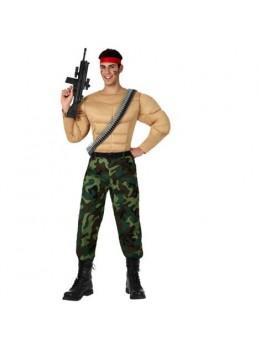 Déguisement homme fort militaire