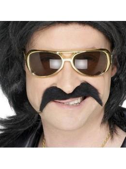 Moustache 70's noire