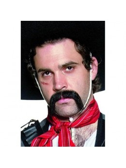 Moustache mexicaine effet naturel