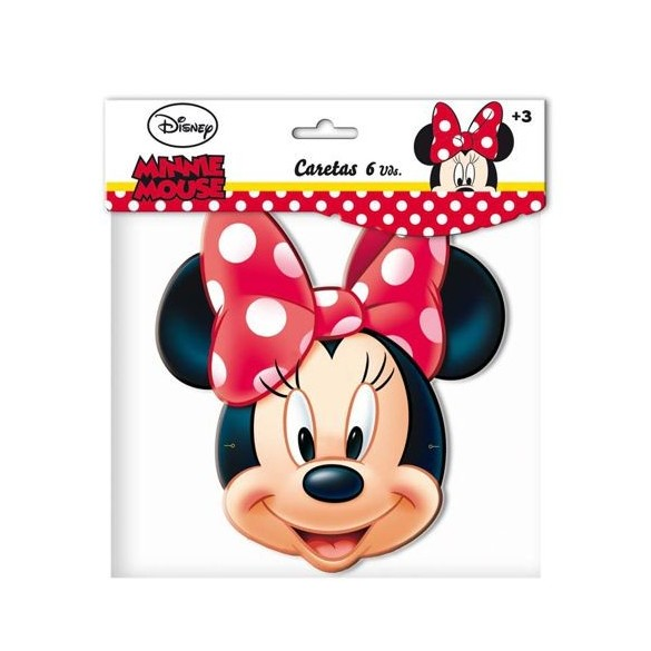 6 Masques Disney Minnie