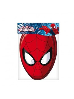 6 Masques Licence Spiderman