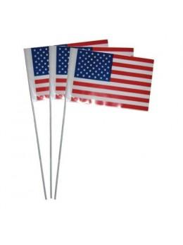 10 Drapeaux USA 9.5cm par 16cm