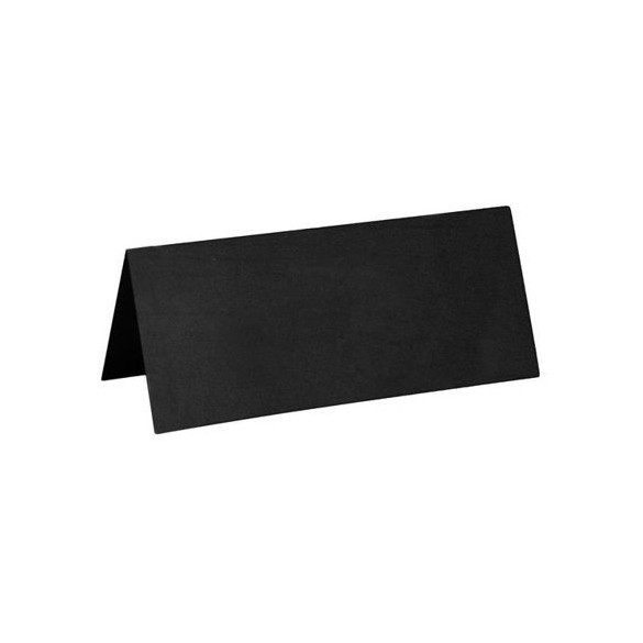 10 Marque place rectangle noir