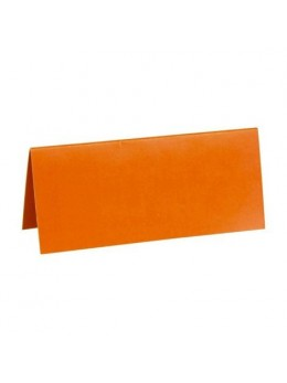 10 Marque place rectangle orange